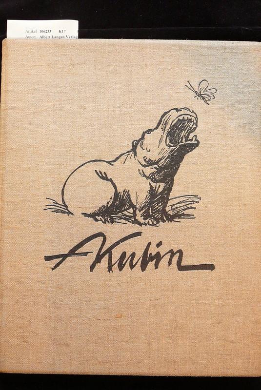 Alfred Kubin - Fünfzig Zeichnungen. numeriertes Exemplar- NR K52,309. o.A.