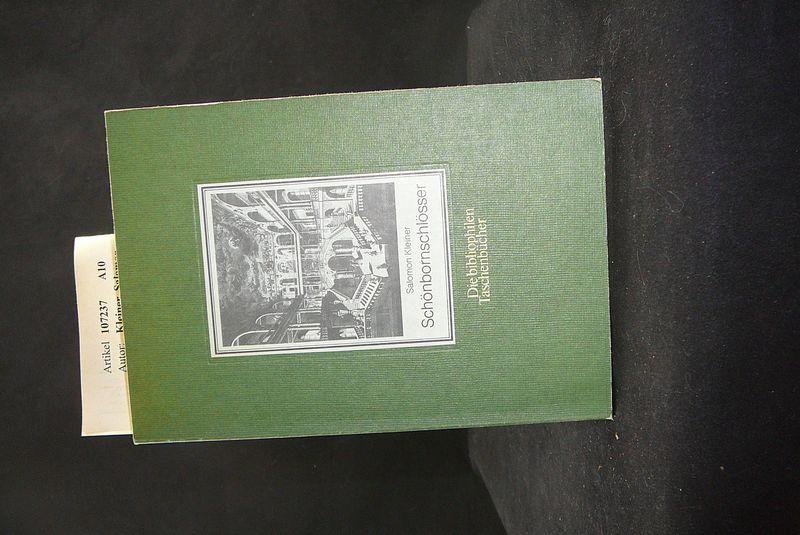 Schönbornschlösser. Drei Vedutenfolgen aus den Jahren 1726-31 - Bibliophiles Taschenbuch Nr. 110. o.A.