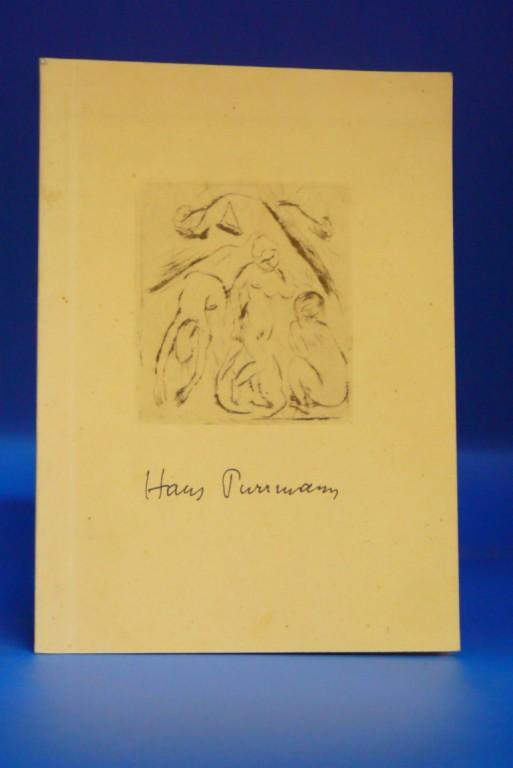 Ausstellung Hans Purrmann. Oktober-November 1950. o.A.