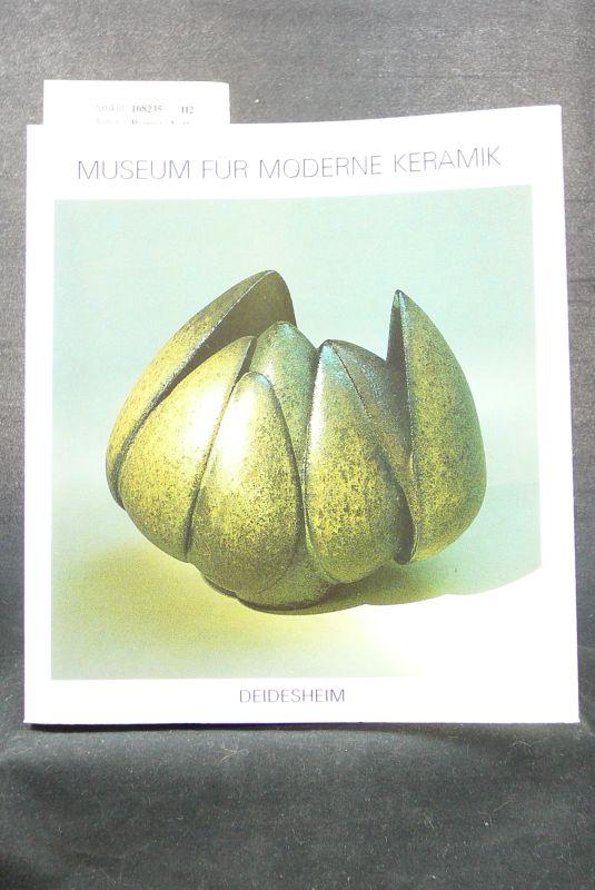 Reimers,Lotte. Museum für Moderne Keramik - Gefäße und Plastiken - Deidesheim. o.A.