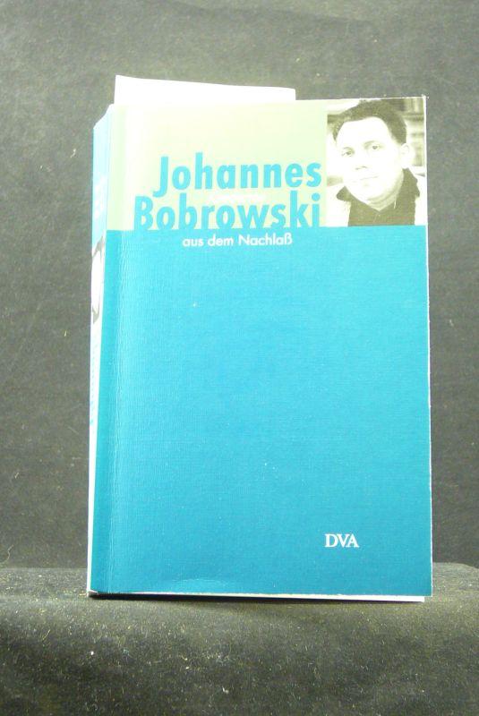 Gedichte aus dem Nachlass. herausgegeben von Eberhard Haufe.