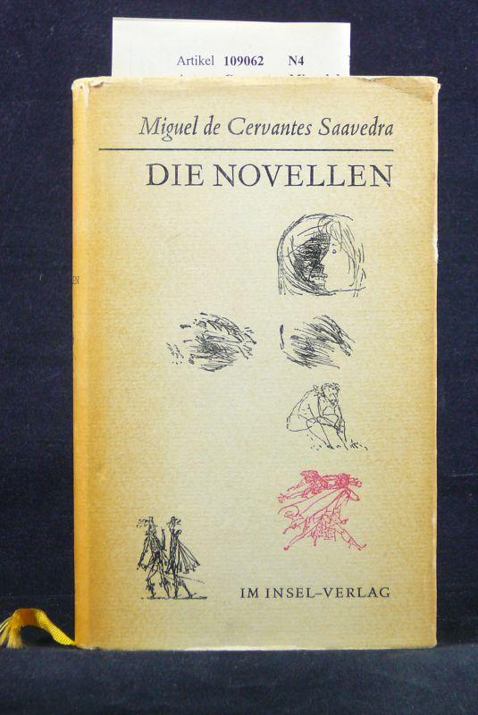 Cervantes, Miguel de. Die  Novellen. mit Holzschnitten von Werner Klemke. 4. Auflage.