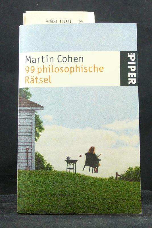 99 philosophische Rätsel. mit 87 Abbildungen. o.A.