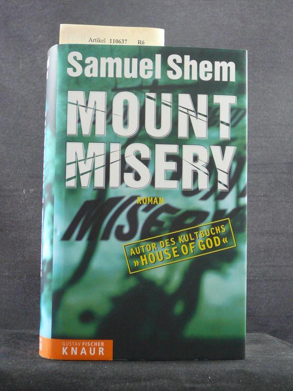 Mount Misery. Roman. o.A.