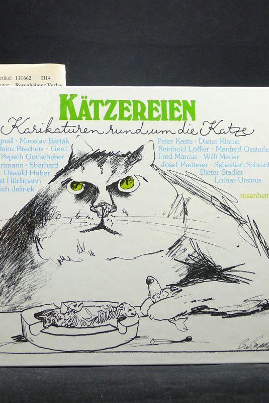 Kätzereien. Karikaturen rund um die Katze. o.A.