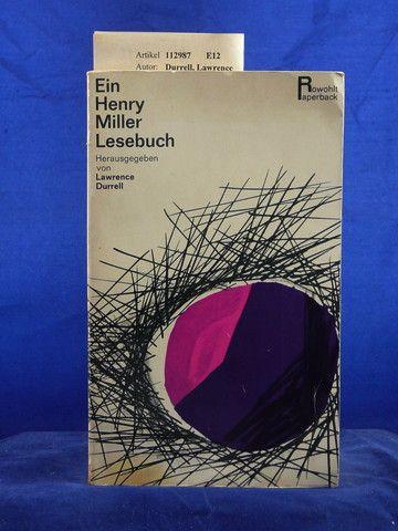 Ein Henry Miller Lesebuch. o.A.