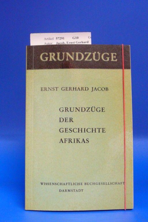 Grundzüge der Geschichte Afrikas.