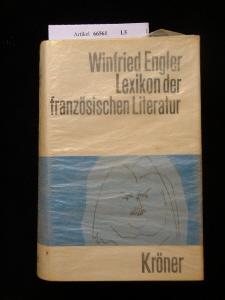 Lexikon der Französischen Literatur. Kröners Taschenausgabe Band 388. 1. Auflage.