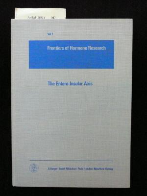 The Entero-Insular Axis. 123 figures and 22 Tables. o.A.