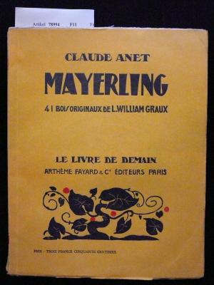 Mayerling. mit 41 Holzschnitten.