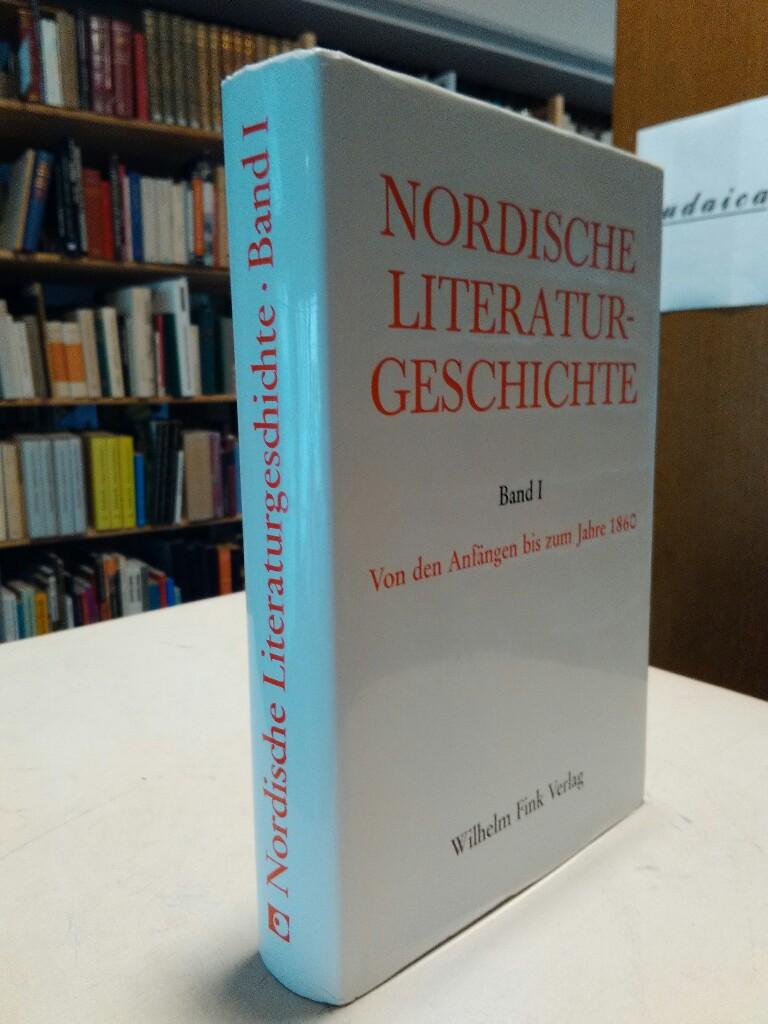Nordische Literaturgeschichte. Band I: Von den Anfängen bis zum Jahre 1860. - Bronsted, Mogens