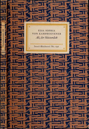 Ali, der Meisterdieb. Eine Geschichte alttürkischer Nomaden.