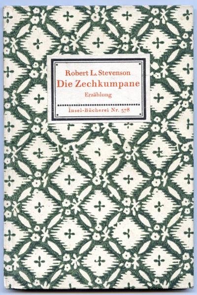 Stevenson, Robert Louis Die Zechkumpane. Erzählung.