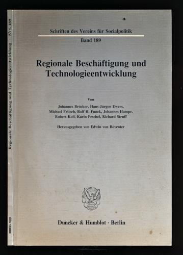Regionale Beschäftigung und Technologieentwicklung.
