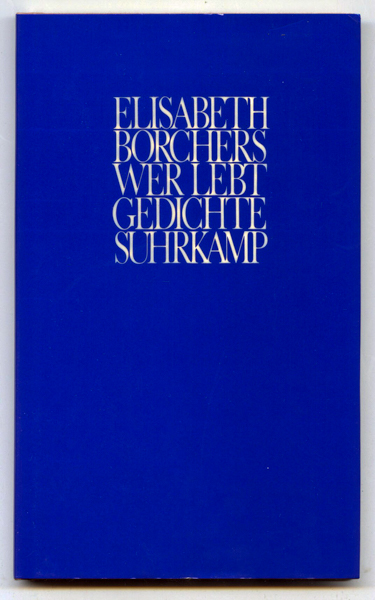 Wer lebt. Gedichte. 2. Aufl.
