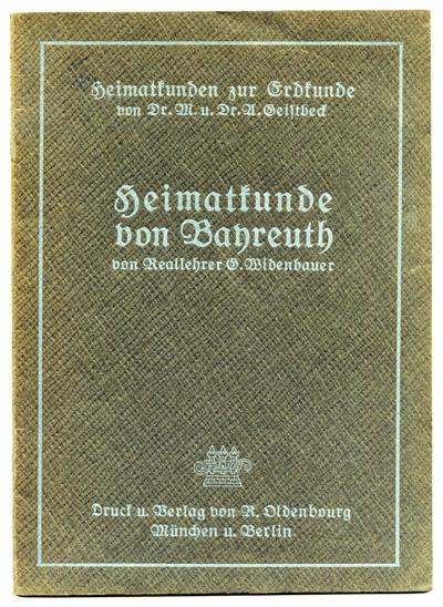 Heimatkunde von Bayreuth.