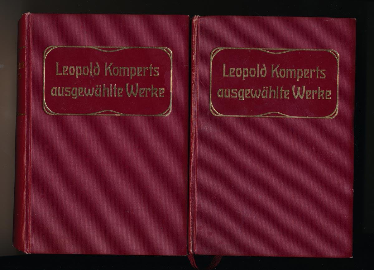 Ausgewählte Werke in vier Bänden (in 2), hrggb. von Stefan Hock (= kompl. Edition).