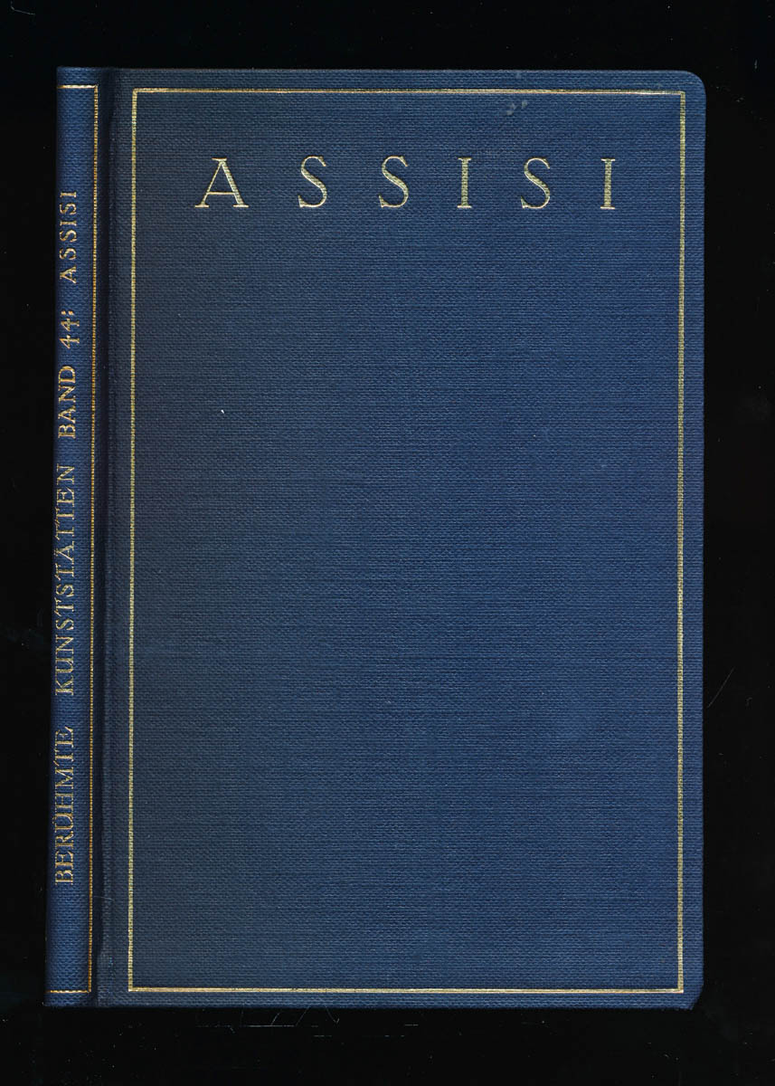 GOETZ, Walter Assisi. 1. Aufl.