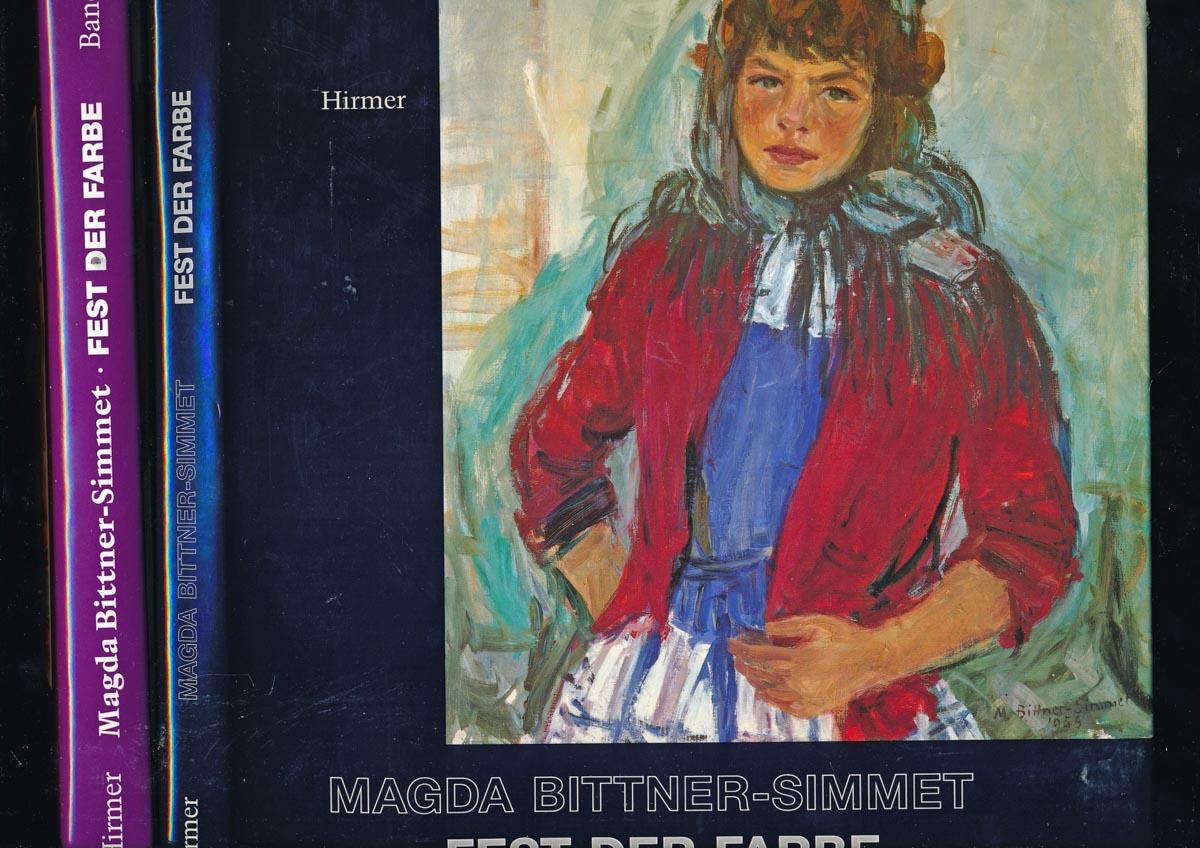 BITTNER-SIMMET, Magda Fest der Farbe. 2 Bde.. Band 1: Gemälde, Aquarelle, Zeichnungen 1948 - 1984, Band 2: Aquarelle, Zeichnungen, Skizzen 1939 - 1992.