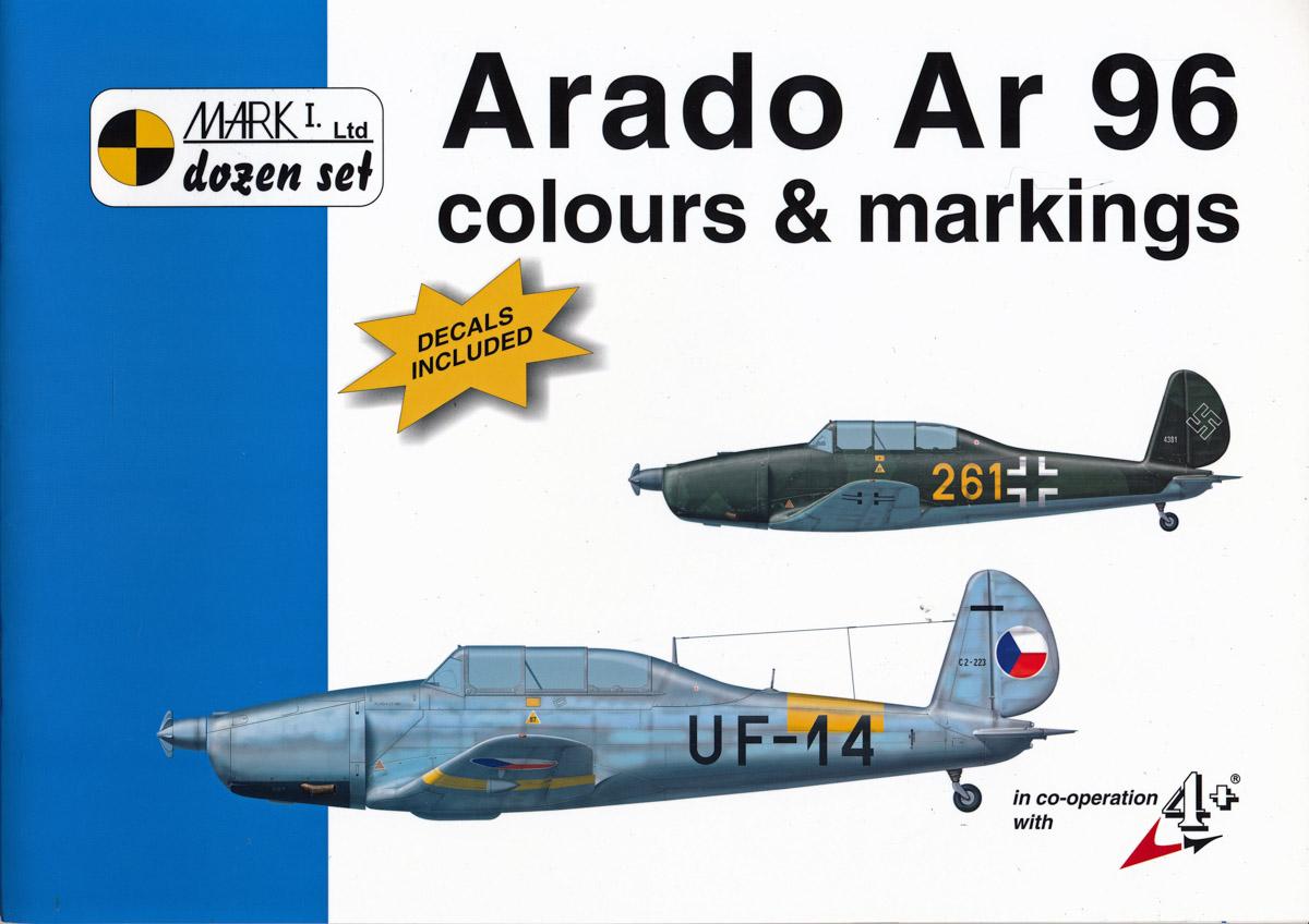 Arado Ar 96. Colours and Markings.