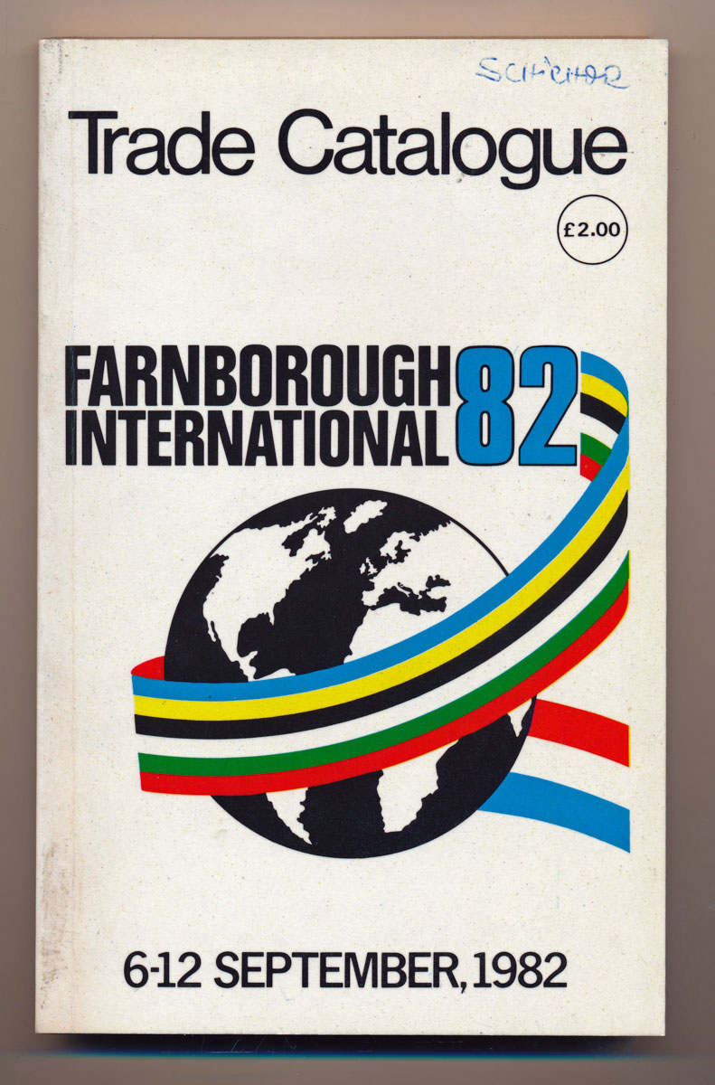 Farnborough International 82. Trade Catalogue 6.-12. September 1982.