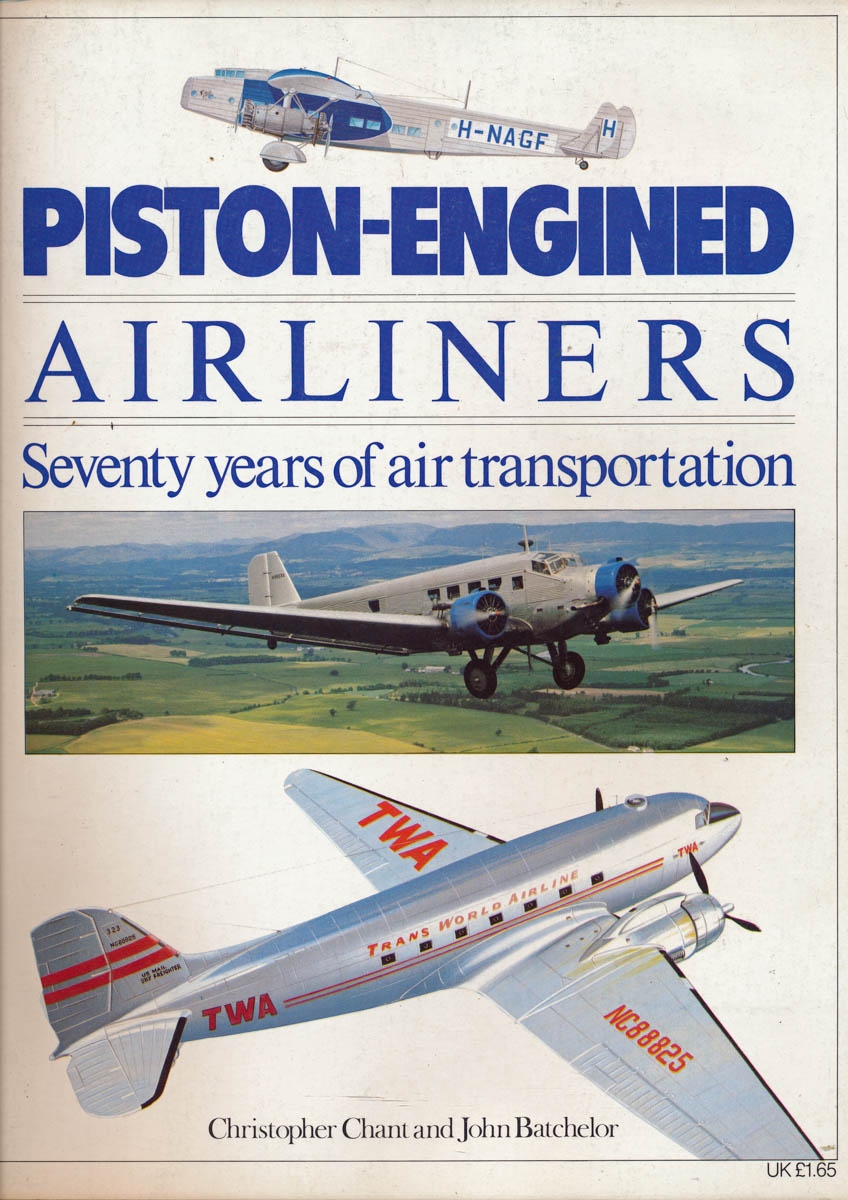 Piston-engines Airliners. Seventy years od air transportation.