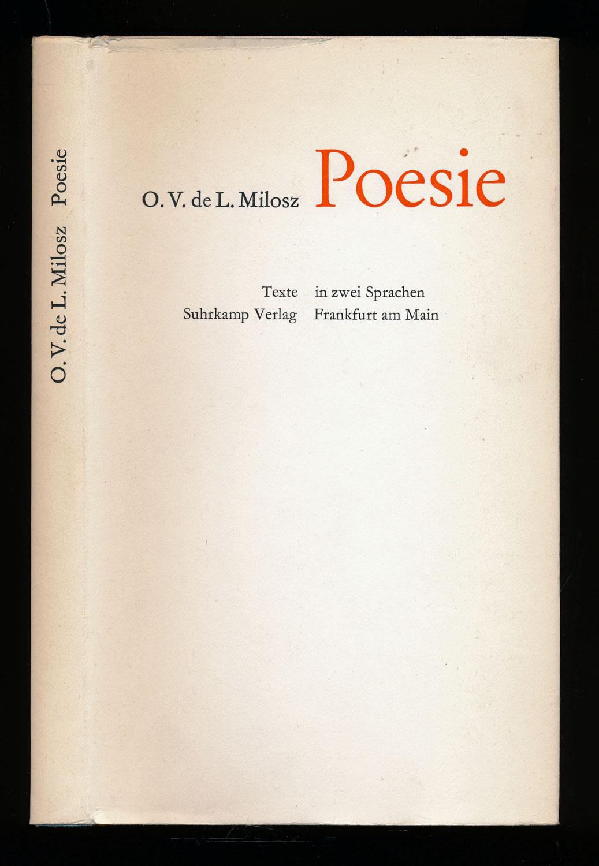 Poesie. Texte in zwei Sprachen franz./dt.. Dt. von Hans Magnus Enzensberger.