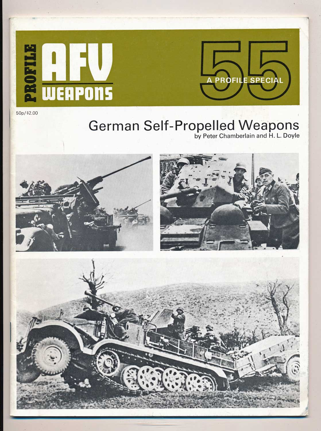 German Self-Propelled Weapons. A Profile Special.