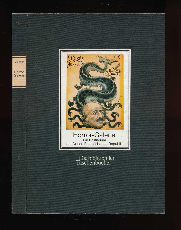 Horror-Galerie. Ein Bestiarium der Dritten Französischen Republik.
