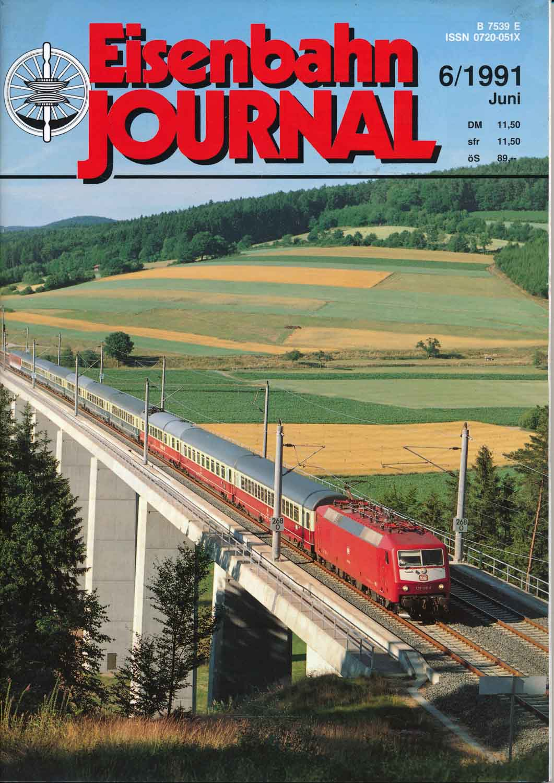 Eisenbahn Journal Heft 6/1991 (Juni 1991).