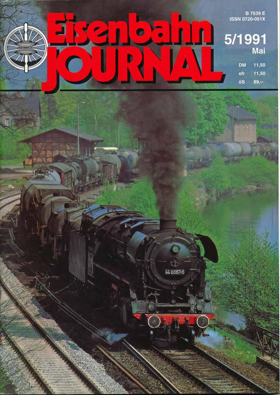 Eisenbahn Journal Heft 5/1991 (Mai 1991).
