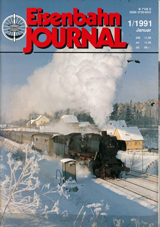 Eisenbahn Journal Heft 1/1991 (Januar 1991).