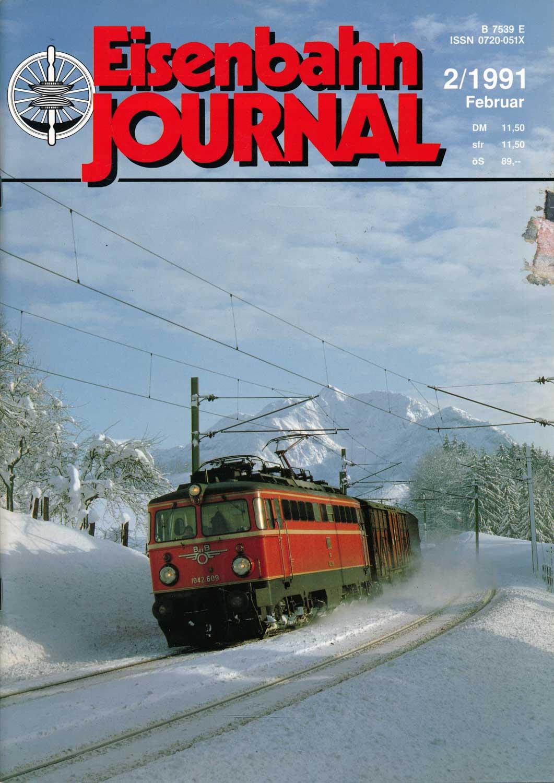 Eisenbahn Journal Heft 2/1991 (Februar 1991).