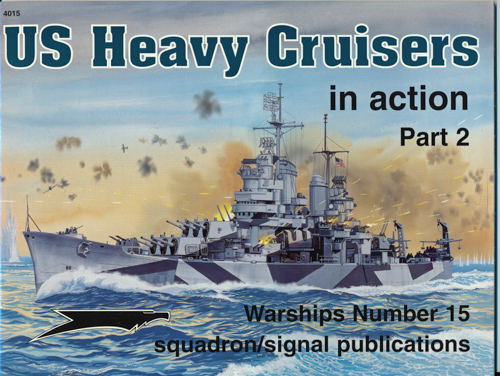 U.S. Heavy Cruisers in action. Part 2.