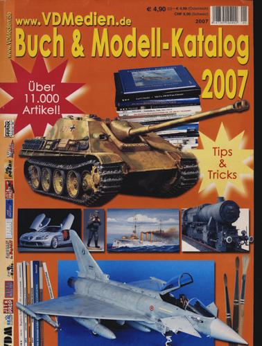 VDMedien Buch- & Modell-Katalog 2007.