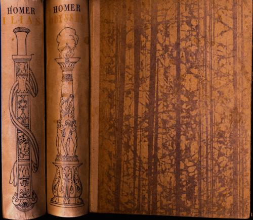 HOMER Ilias und Odyssee. 2 Bde.. Dt. von  Johann Heinrich Voss.