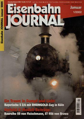 Eisenbahn Journal Heft 1/2002 (Januar 2002).
