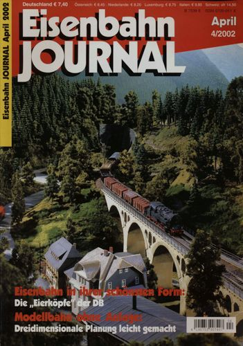 Eisenbahn Journal Heft 4/2002 (April 2002).