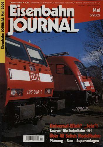 Eisenbahn Journal Heft 5/2002 (Mai 2002).