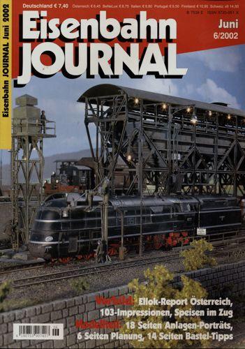 Eisenbahn Journal Heft 6/2002 (Juni 2002).