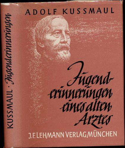 Jugenderinnerungen eines alten Arztes. 20. Aufl.