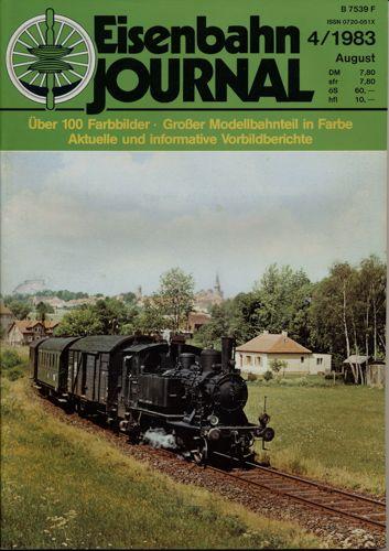 Eisenbahn Journal Heft 4/1983 (August 1983).