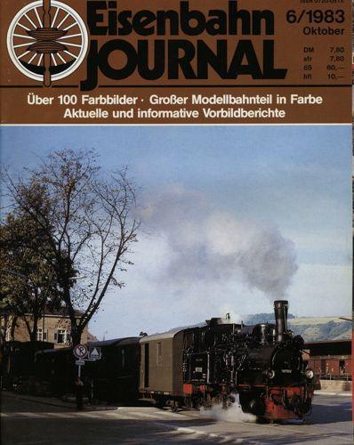 Eisenbahn Journal Heft 6/1983 (Oktober 1983).