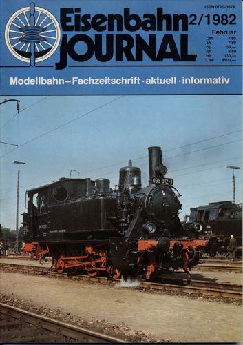 Eisenbahn Journal Heft 2/1982 (Februar 1982).
