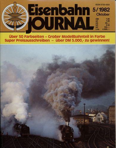 Eisenbahn Journal Heft 5/1982 (Oktober 1982).