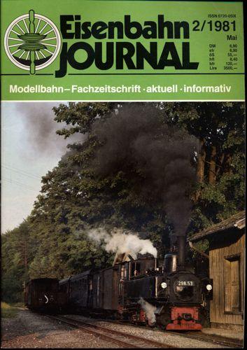 Eisenbahn Journal Heft 2/1981 (Mai 1981).