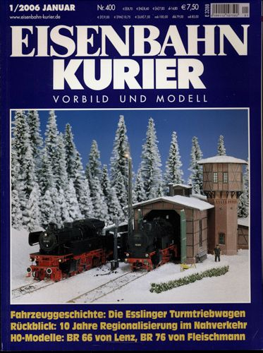 Eisenbahn-Kurier Heft Nr. 1/2006 (Januar 2006).