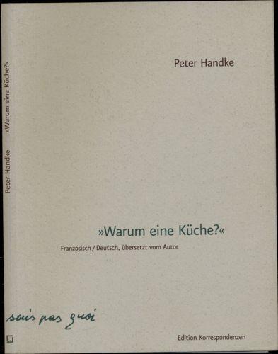 """""""Warum eine Küche? Texte für das Schauspiel `La Cuisine` von Mladen Materic."""