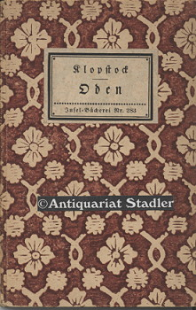 Oden. (Insel-Bücherei  Nr. 283). Erstausgabe.