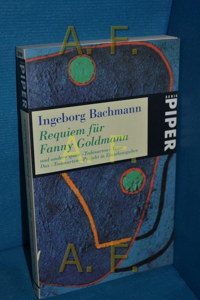 Requiem für Fanny Goldmann und andere späte